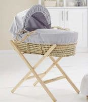 Clair De Lune palm moses basket